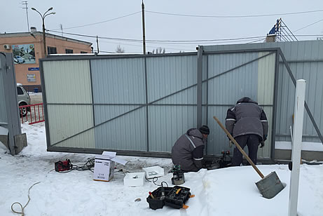 Ремонт откатных ворот в Воронеже
