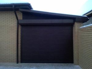 Рольворота для гаража